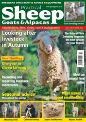 No. 14 Looking After Livestock In Autumn issue No. 14 Looking After Livestock In Autumn
