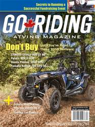 Go Riding ATVing Magazine Magazine Cover