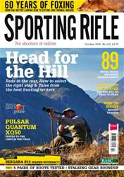 Sporting Rifle October 2016 issue Sporting Rifle October 2016
