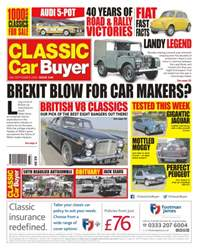 No. 348 Brexit Blow For Car Makers?  issue No. 348 Brexit Blow For Car Makers?