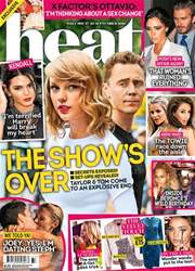 Heat Magazine Cover