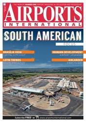Airports International Magazine Cover