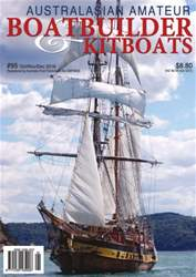 Australian Amateur Boat Builder Magazine Cover
