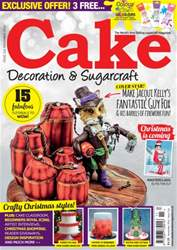 Cake Decoration & Sugarcraft Magazine Magazine Cover