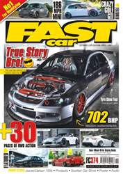 Fast Car Magazine Cover