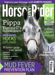 Horse&Rider Magazine – November 2016 issue Horse&Rider Magazine – November 2016