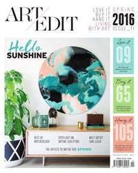 Art Edit | Spring issue 11 issue Art Edit | Spring issue 11