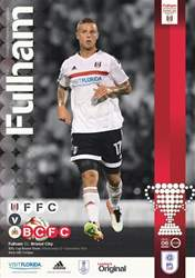 Fulham V Bristol City EFL 16-17 issue Fulham V Bristol City EFL 16-17
