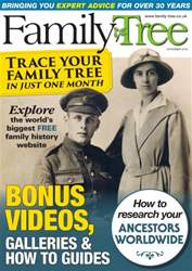 Family Tree November 2016 issue Family Tree November 2016