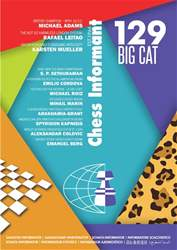Chess Informant 129 Big Cat  (September 2016) issue Chess Informant 129 Big Cat  (September 2016)