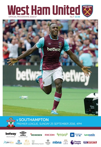 West Ham Utd Official Programmes Digital Issue