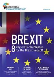 Brexit: 8 ways CIOs can prepare for the Brexit impact issue Brexit: 8 ways CIOs can prepare for the Brexit impact
