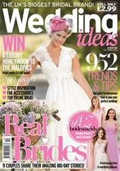 Wedding Ideas magazine Magazine Cover