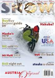 Snow Action Magazine Cover