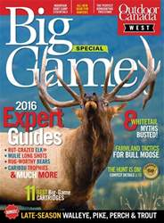 Big Game West 2016 issue Big Game West 2016