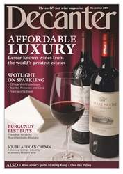 Decanter Magazine Cover
