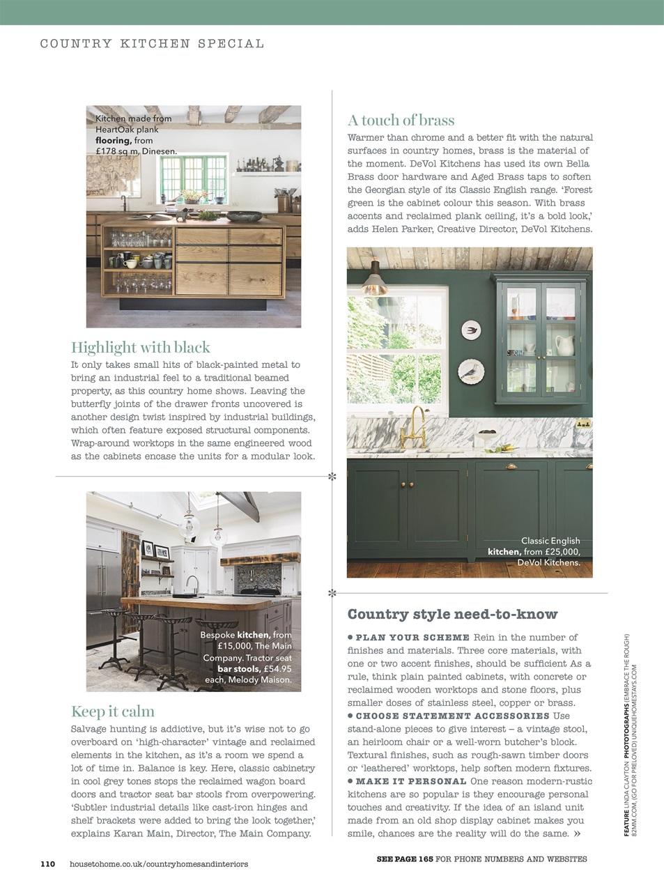Country Homes Interiors Magazine November 2016