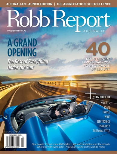 Robb Report Australia Preview