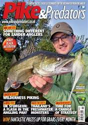 Pike & Predators Magazine Cover