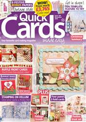 Quick Cards Made Easy Magazine Cover