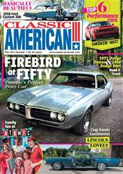 Classic American Magazine issue 319 November 2017