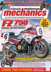 Classic Motorcycle Mechanics issue November 2017