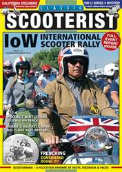Classic Scooterist issue October / November 2017
