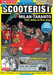 Classic Scooterist issue December 2017 / January 2018