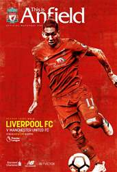 Liverpool v Manchester United 201617 issue Liverpool v Manchester United 201617