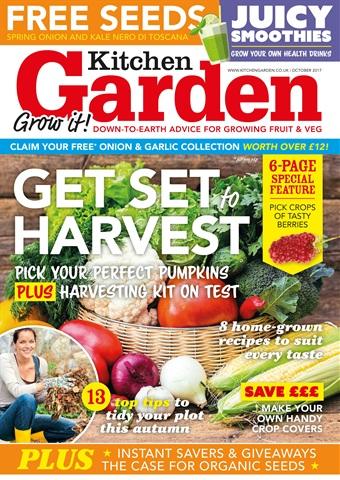 Kitchen Garden Magazine issue October 2017