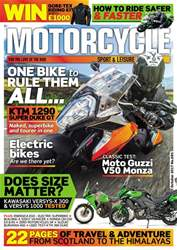 Motorcycle Sport & Leisure issue October 2017
