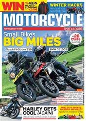 Motorcycle Sport & Leisure issue December 2017