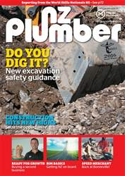 NZ Plumber October-November 2016 issue NZ Plumber October-November 2016