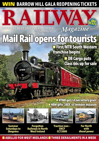 Railway Magazine issue September 2017
