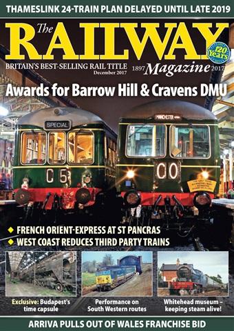 Railway Magazine issue December 2017