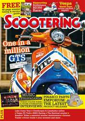 Scootering issue September 2017