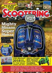 Scootering issue October 2017