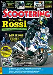 Scootering issue November 2017