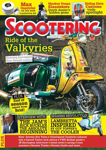 Scootering issue December 2017