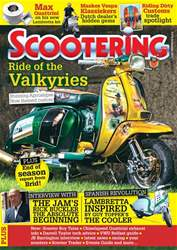 Scootering Magazine Cover