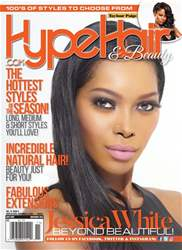 Hype Hair Magazine Cover