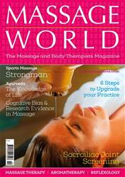 Massage World Issue 94 issue Massage World Issue 94