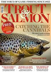 Trout & Salmon Magazine Cover