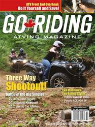 Go Riding ATVing Magazine issue GR October 2016