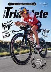 Australian Triathlete Magazine Cover