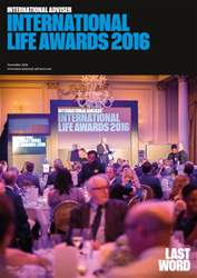 Life Awards November 2016 issue Life Awards November 2016
