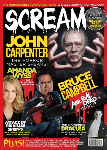 Scream Magazine Preview