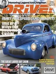 Drive Magazine Cover