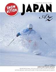 SnowJapan Mega Guide issue SnowJapan Mega Guide