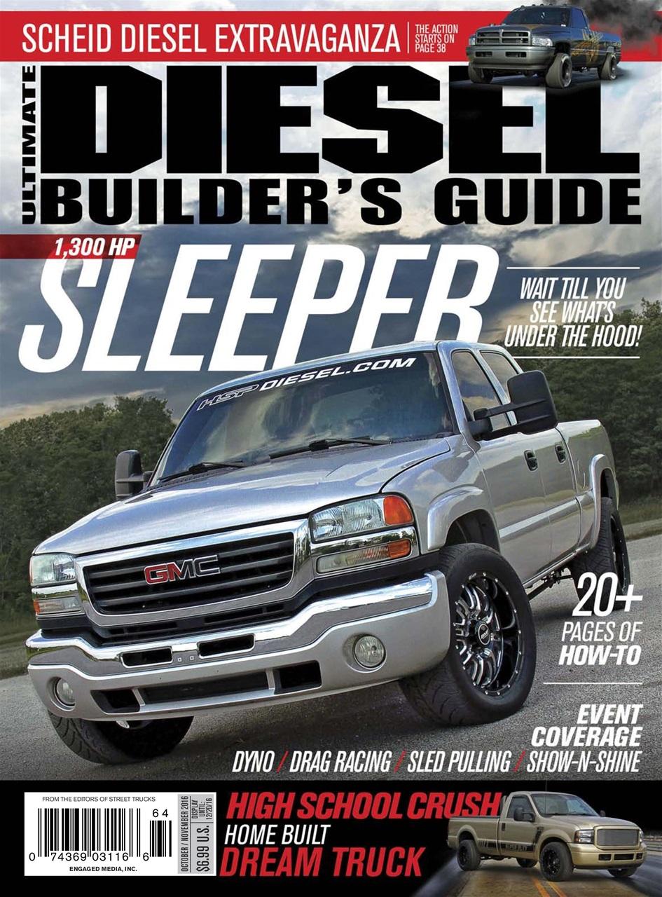 ultimate diesel builders guide magazine oct nov 2016. Black Bedroom Furniture Sets. Home Design Ideas